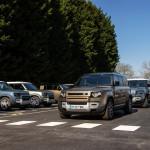 Land Roverekkel a koronavírus ellen