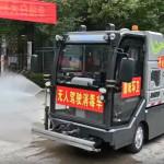Önvezető autókkal küzd Kína a fertőzés ellen