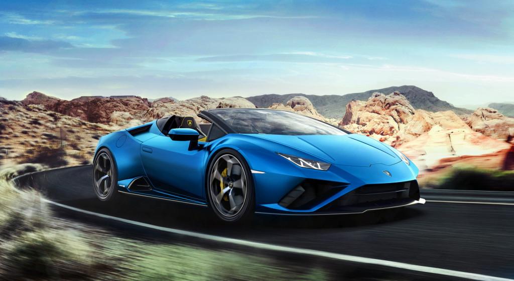 Lehajtható tetővel is bemutatkozott a hátsókerekes Lamborghini