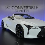 Tanulmányként mutatkozik be Genfben a Lexus LC kabrió