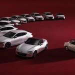 Ünnepel a Mazda, ezért minden modelljéből ünnepi szériát dobott ki Japánban