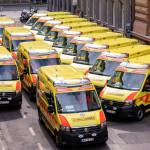 20 új mentőautót kapott az Országos Mentőszolgálat