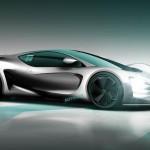 Részletek a Mercedes szuper-sportkocsijáról