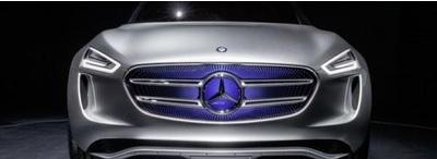 """Jön a Mercedes """"négykerekű napeleme"""""""