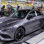 Újraindul a termelés a kecskeméti Mercedes gyárban