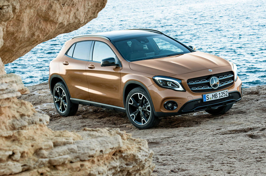 Mercedes-Benz GLA, X156, 2017