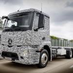 Elektromos teherautó készül a Mercedesnél
