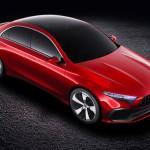 Radikálisan új külsőt kaphat a Mercedes A-osztály