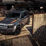 Előre rozsdásított elemekkel dobták fel az amúgy rozsdásodni képtelen Land Rover Defendert