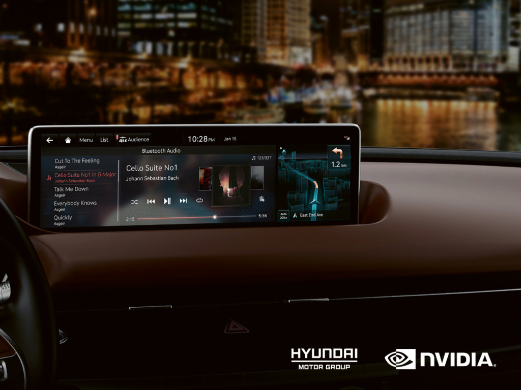 Az Nvidia fejleszti a jövő Hyundai és a Kia infotainment rendszereit
