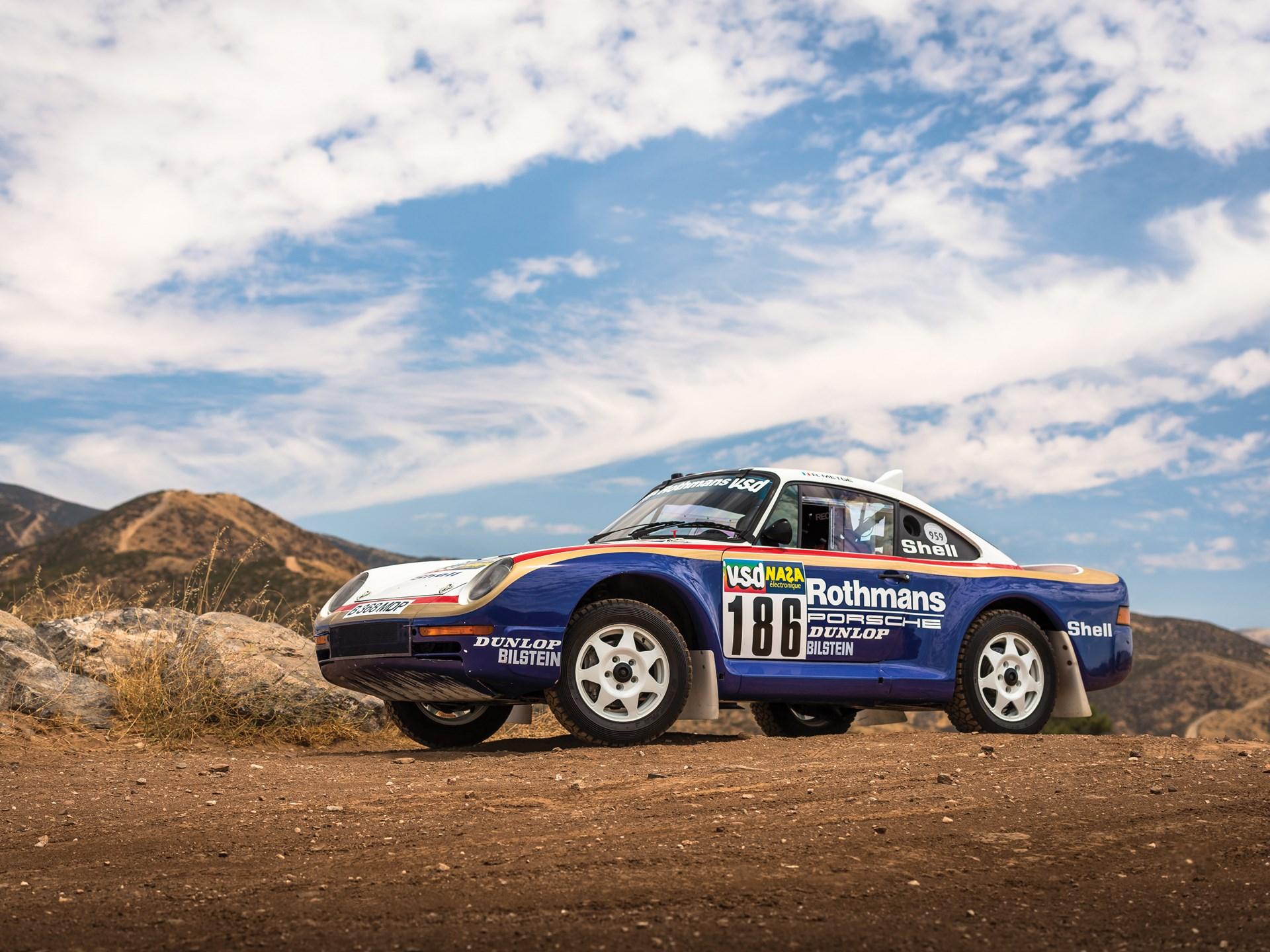 Rekordáron kelt el a Dakar-Porsche