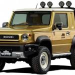 Platós tanulmányként is megmutatja magát a Suzuki Jimny