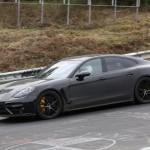 Új kémfotókon az új Porsche Panamera