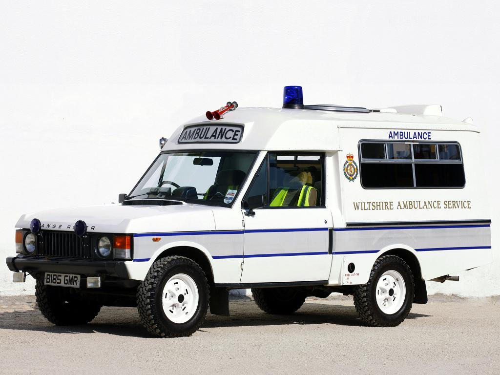 Range Rover Ambulance 1976