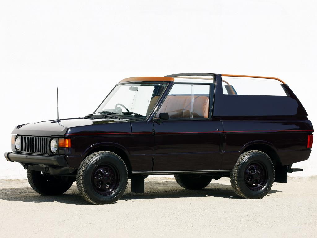 Range Rover Royal State Car 1974