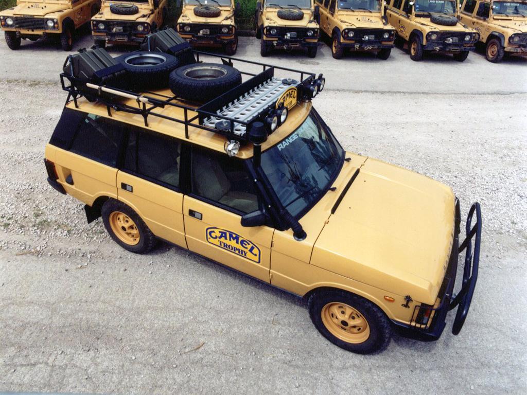 Range Rover Camel Trophy 1987