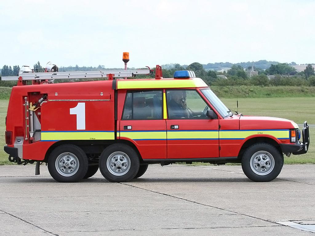 Range Rover Firefighter 1972