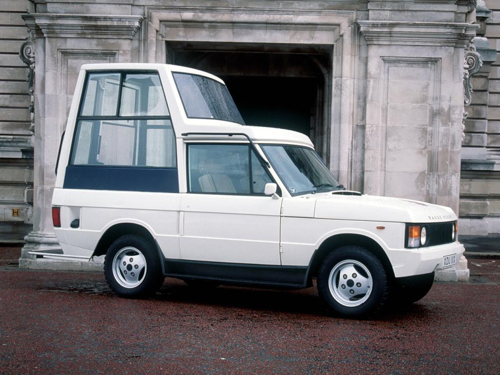 Range Rover Pápamobil 1982