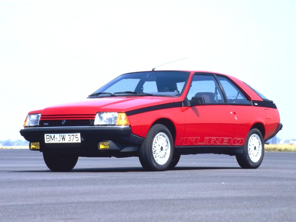 Renault Fuego Turbo - 1985