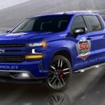 Pickupot küld a Chevrolet a Daytona 500-ra