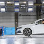 Crash Laboratory Škoda Auto, Úhelnic, Škoda Octavia iV