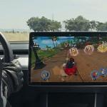 Játékokkal frissült a Tesla rendszere