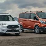 Emelt hasmagassággal és műanyag koptatókkal is jön a Ford Transit Connect