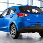 Toyota Yaris lett a Mazda 2-ből Amerikában