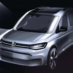 Szépen lassan körvonalazódik a Volkswagen Caddy új generációja