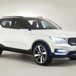 Újabb részletek a Volvo leendő kompakt SUV-járól