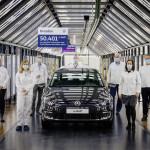 Elkészült az utolsó elektromos Volkswagen Golf