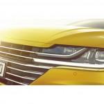 Az első (részlet)képek az új VW Arteonról