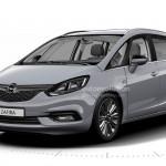 Kiszivárgott az új Opel Zafira