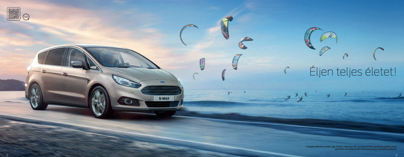 Ford S-Max 1.5T 165 S6.2 M6 FWD